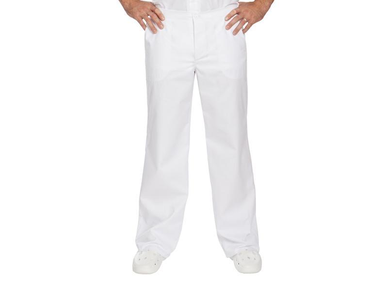 Biele pánske nohavice