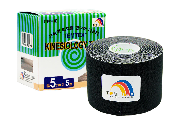 TEMTEX tape Classic 5 cm x 5 m  Fekete