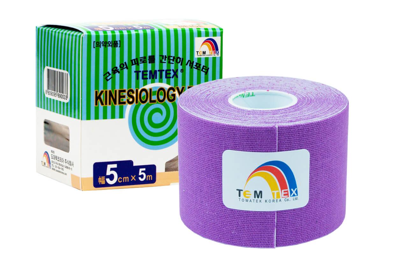 TEMTEX tape Classic 5 cm x 5 m  Lila