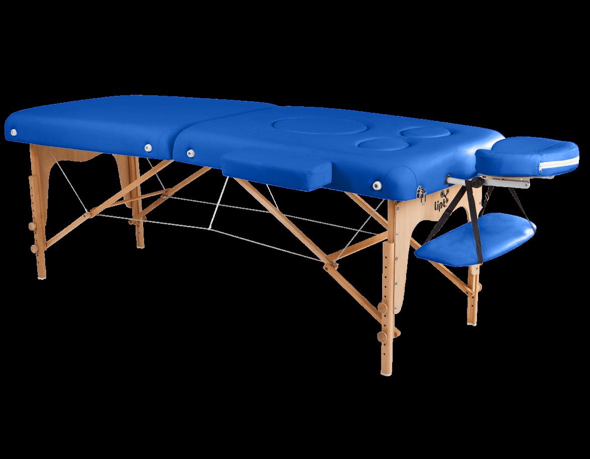 Masszázságy Lipt® DT-03 (terhességi) Kék