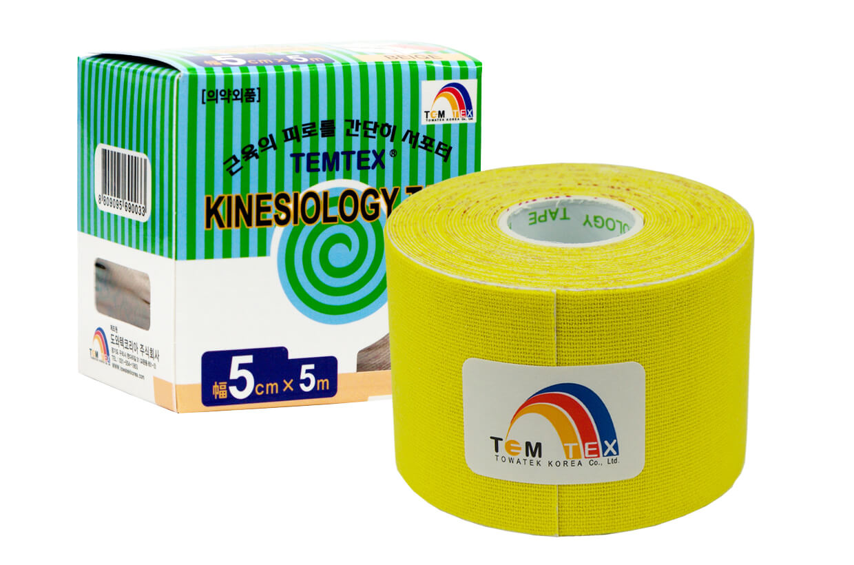 TEMTEX tape Classic 5 cm x 5 m  Sárga