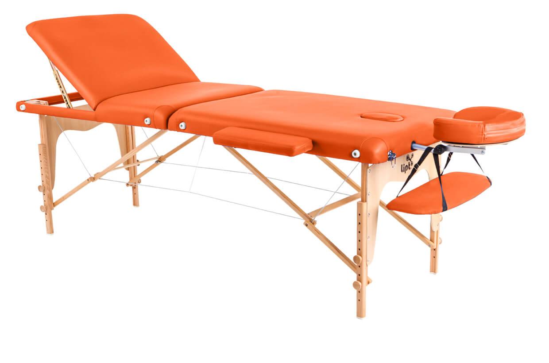 Masszázságy Lipt® D-05V Narancssárga