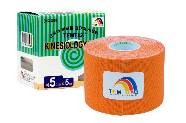TEMTEX tape Classic 5 cm x 5 m  Narancssárga