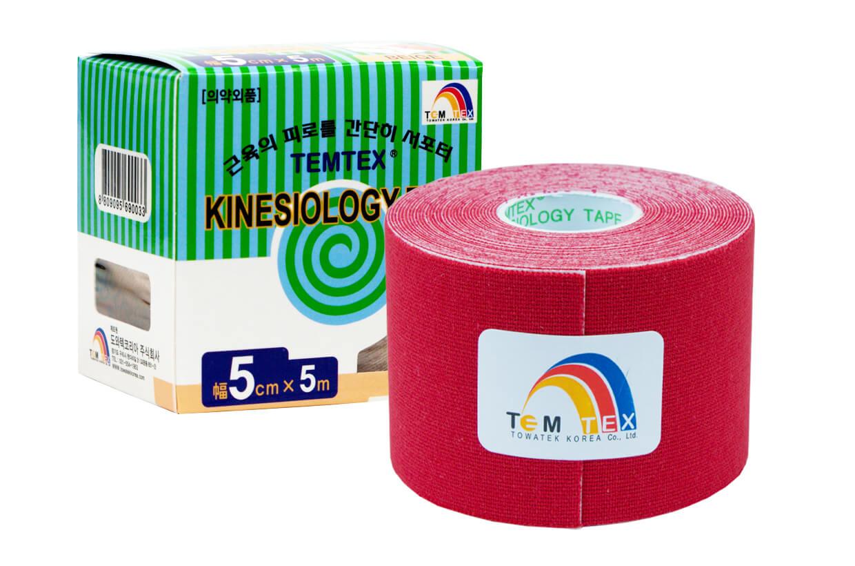 TEMTEX tape Classic 5 cm x 5 m  Piros