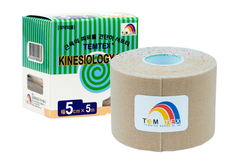 TEMTEX tape Classic 5 cm x 5 m  Bézs