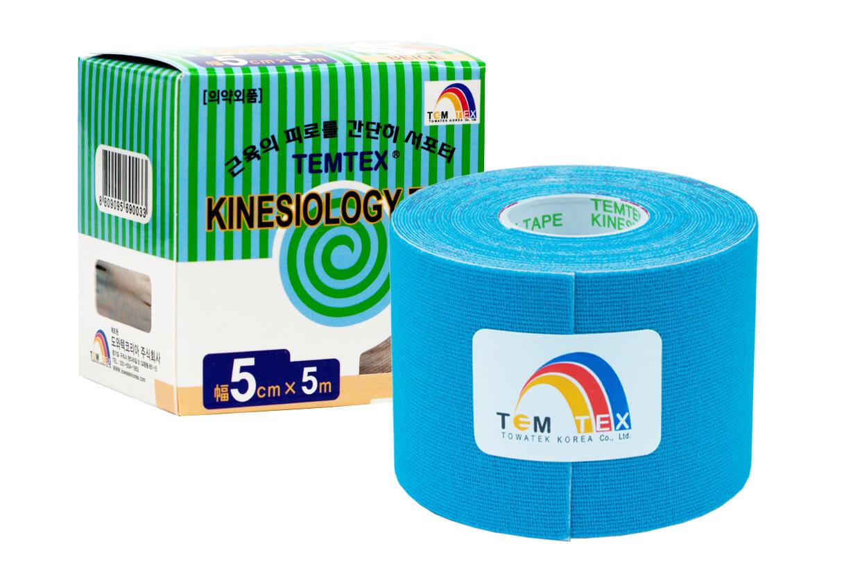 TEMTEX tape Classic 5 cm x 5 m  Kék