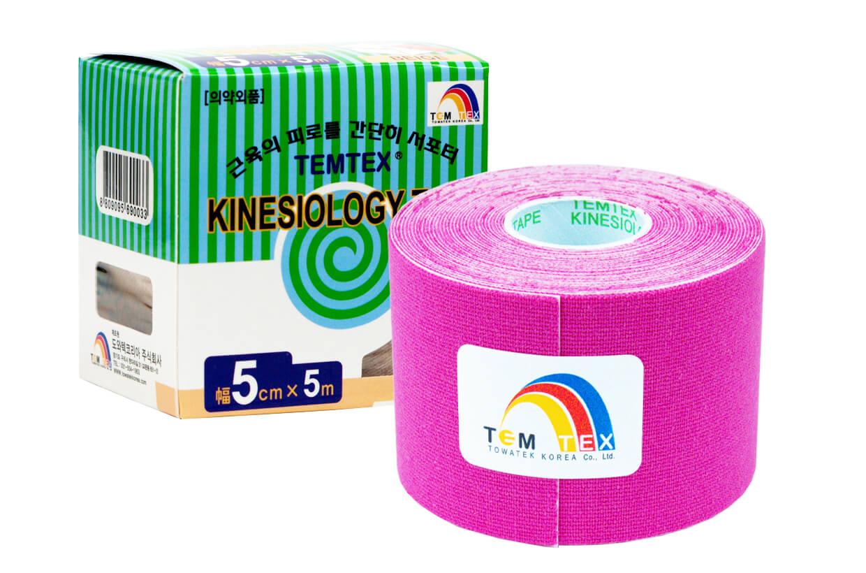 TEMTEX tape Classic 5 cm x 5 m  Rózsaszín