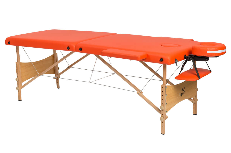 Masszázságy Lipt® DS-01 Narancssárga