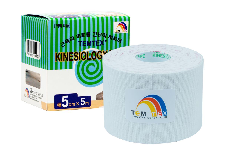 TEMTEX tape Classic 5 cm x 5 m  Fehér