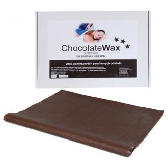 Egyhasználatú paraffin pakolás – csokoládé 20db
