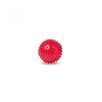 Loptička - ježko, červený, 8 cm