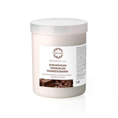 Csokoládés masszázskrém, kakaóvajjal, 1000ml