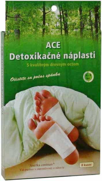 ACE Detoxikačné náplasti/vankúšiky 8ks
