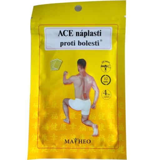 ACE fájdalom elleni tapaszok 4db