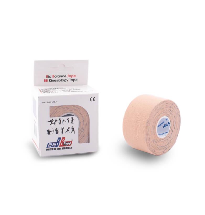BB tape 2,5cm x 5m bézs