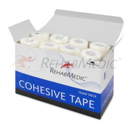Cohesive tape 7,5cm x 4,6m Fehér