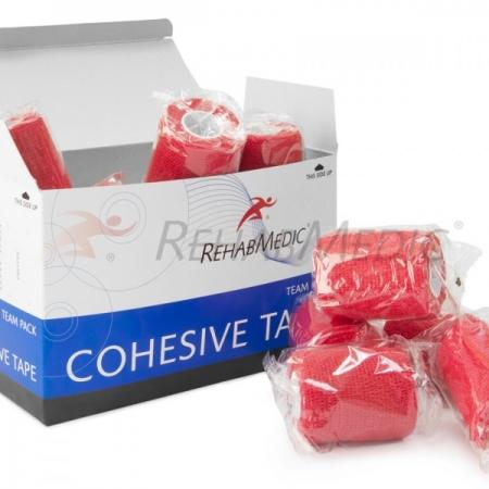 Cohesive tape 5cm x 4,6m Piros
