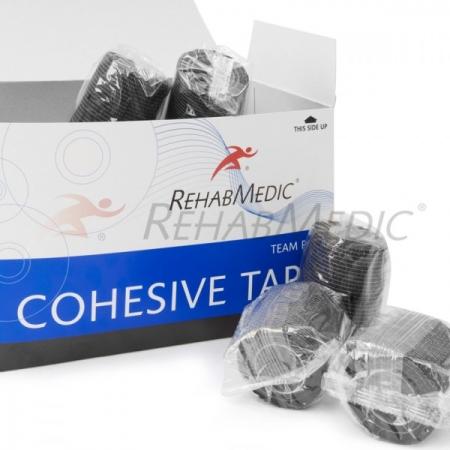 Cohesive tape 5cm x 4,6m Fekete
