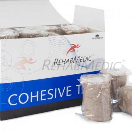 Cohesive tape 5cm x 4,6m Test színében