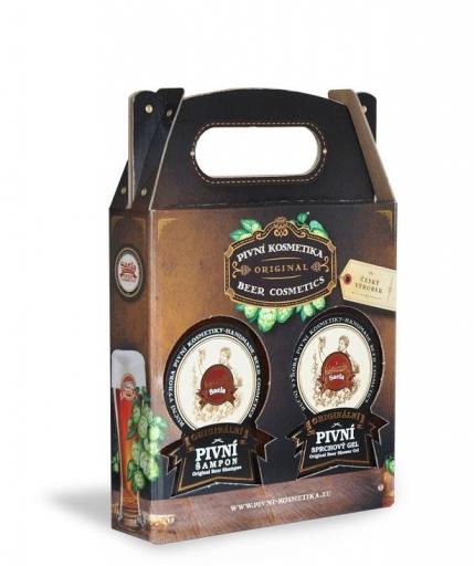 Mini ajándék szett II. – sörös sampon plusz tusfürdő
