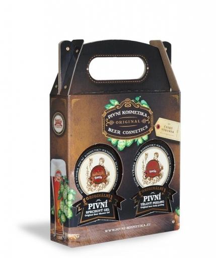 Mini ajándék szett III. – sörös tusfürdő plusz testpeeling