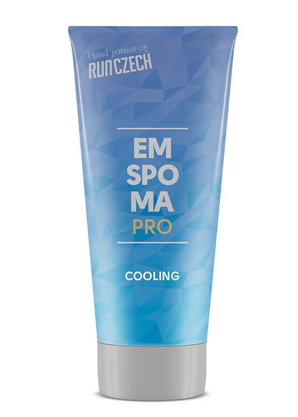 EMSPOMA Pro Cooling hűsítő masszázskrém 100 ml