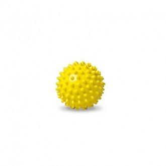 Loptička - ježko, žltý, 7 cm