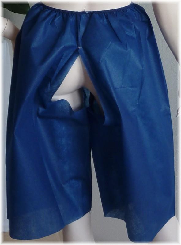 Kraťase, jednorazové šortky modré