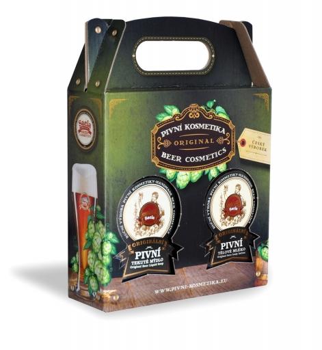 Ajándékkészlet I. – sörös folyékony szappan plusz testápoló krém 2x500ml