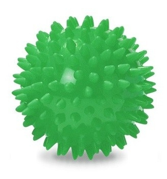 Labda – sün, zöld, 7cm