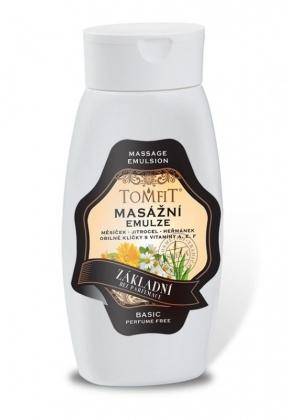 Alap masszázs emulzió - illatanyagok nélkül 250 ml
