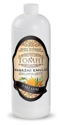 Masážna emulzia Základná s parfumáciou 1l