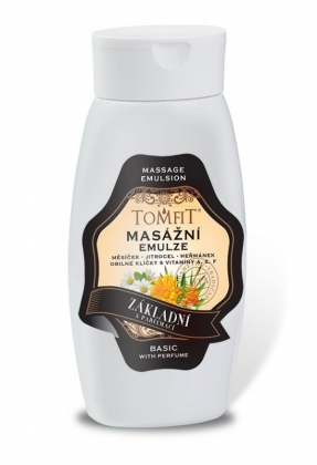 Alap masszázs emulzió – illatanyagokkal 250 ml