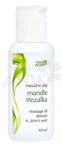 Mandulás - Orbáncfüves masszázsolaj