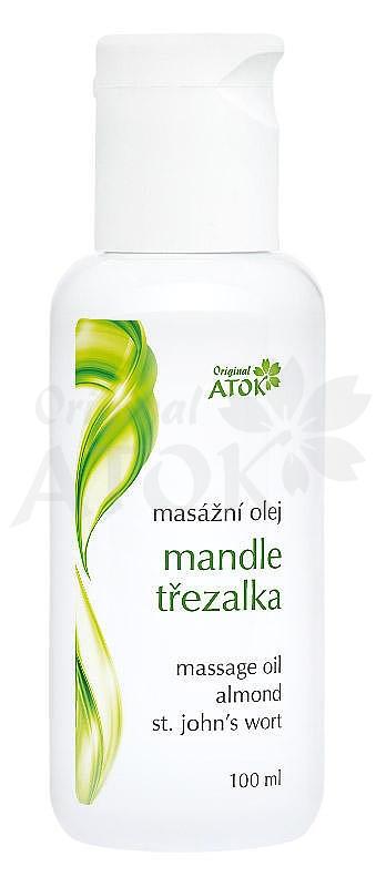 Masážny olej mandĺovo-ĺubovníkový