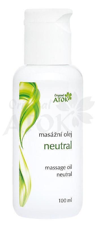 Masážny olej neutrálny