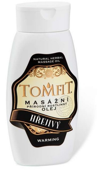 Masážny olej Hrejivý 250 ml