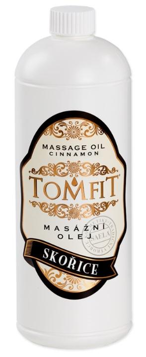 Masážny olej Škorica 1l