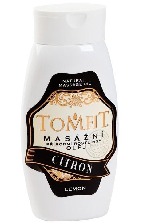 Masážny rastlinný olej Citrónový 250 ml