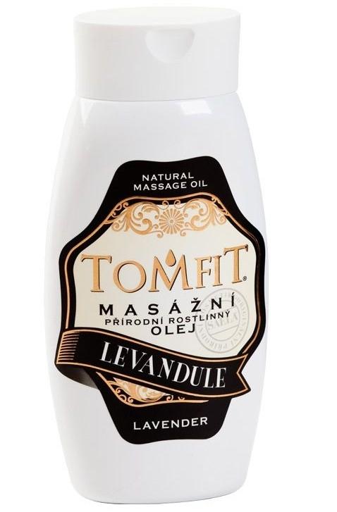 Masážny rastlinný olej Levanduľový 250 ml