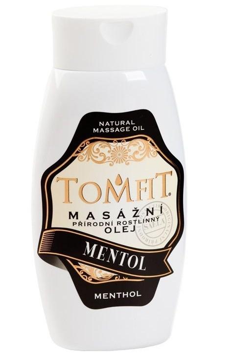 Masážny rastlinný olej Mentolový 250 ml
