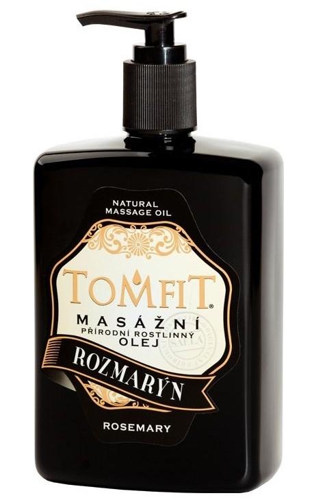 Masážny rastlinný olej Rozmarínový 500 ml