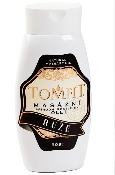 Masážny rastlinný olej Ruža 250 ml