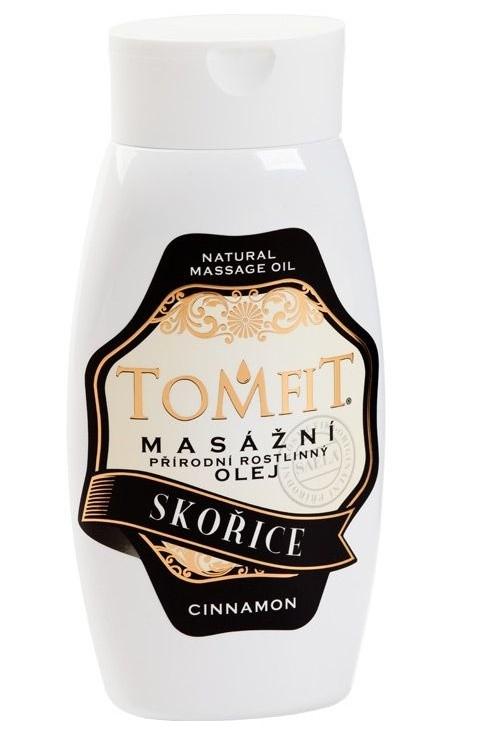 Masážny rastlinný olej Škoricový 250 ml