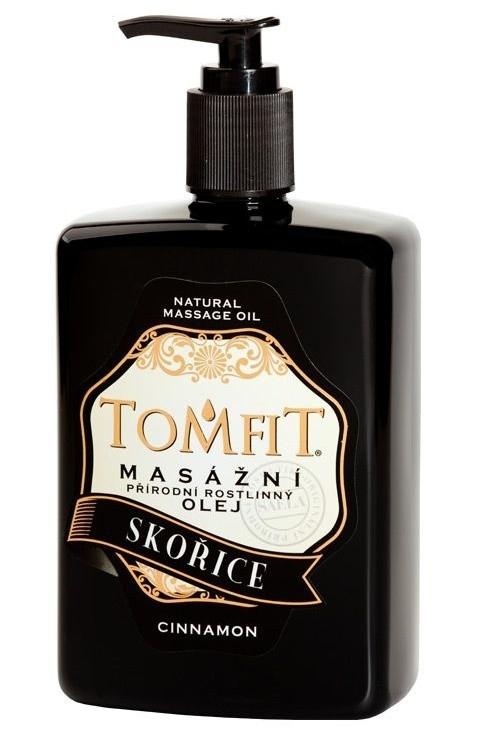 Masážny rastlinný olej Škoricový 500 ml