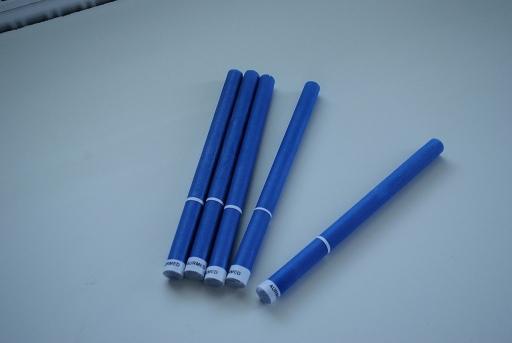 Színes csakragyertyák – kék