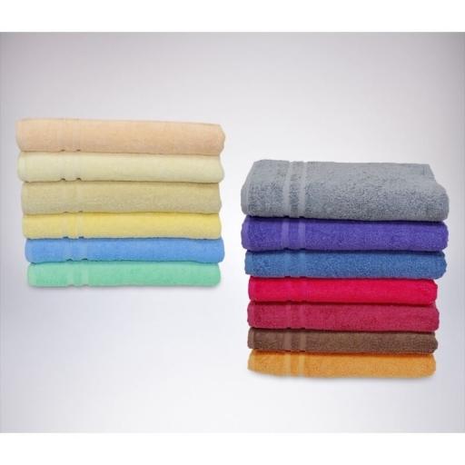 Fürdőlepedő 70x140cm (színes)