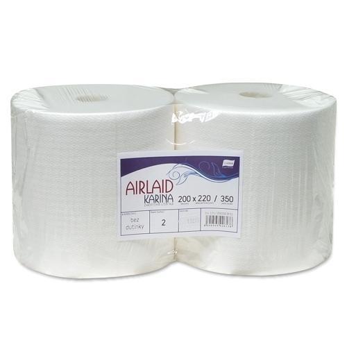 Papierová utierka KARINA AIRLAID 2x 20cm/350 útržkov