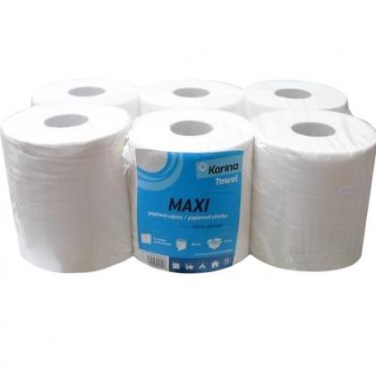 PK MAXI papírtörlő tekercs, kétrétegű, cellulóz
