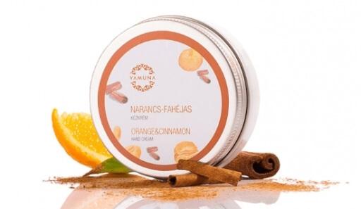 Pomarančovo-škoricový krém na ruky 50ml